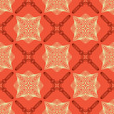 Linear elegant pattern with medieval look. Royalty Free Stock Photography