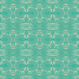 Linear emerald green website background Stock Image