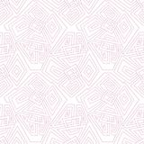 Linear geometric seamless pattern pale pink. Seamless pattern, background, texture. Vector ornament. Decorative tiles. Stock Photos