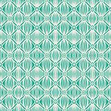 Linear green tribal seamless pattern. Hand drawn linear pattern, ideal website background or holiday wrapping paper or wedding invitation background Royalty Free Stock Images