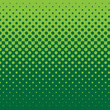 Linear Half Tone - Green stock illustration