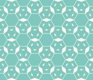 Linear hexagonal grid. Minimalist ornament with thin lines, lattice, mesh. Hexagonal grid seamless pattern. Vector linear geometric texture in trendy colors Stock Photo