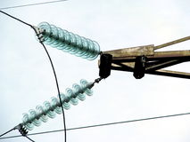 Linear insulator(garland) Stock Images