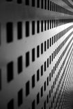 Linear perspective. Abstract concept from a gate Royalty Free Stock Image