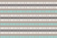Linear scandinavian seamless pattern. Zigzag pattern. Abstract minimalistic ornament with trendy color. Modern swatch. Flat backgr vector illustration
