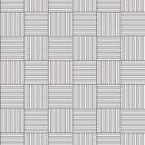 Linear seamless pattern Stock Image