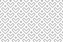 Geometric seamless pattern with linear. Linear seamless pattern. Subtle geometric background stock illustration
