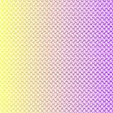 Lineare gelbe und purpurrote digitale Beschaffenheit stock abbildung