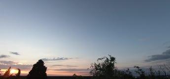 Lineare 30 Sekunden der HimmelZeitspanne stock footage