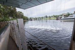 Lineare Spur Fluss-Torrens Lizenzfreies Stockfoto