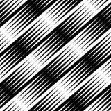 Lineares geometrisches nahtloses allgemeinhinmuster mit Übergang Lizenzfreie Stockbilder