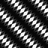 Lineares geometrisches nahtloses allgemeinhinmuster mit Übergang Stockfotografie