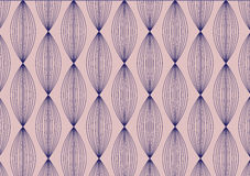 Lineares Muster Abstrakter stilvoller Hintergrund mit dem stilisierten Blumenblatt Lizenzfreies Stockfoto
