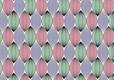 Lineares Muster des Vektors Abstrakter stilvoller Hintergrund mit stilisiertem Lizenzfreie Stockfotos