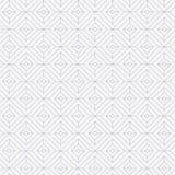 Lineares Muster, lineare Diamantform verzieren mit Diamantquadratform stock abbildung