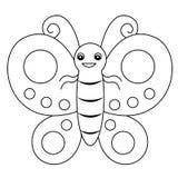 πεταλούδα lineart Στοκ Φωτογραφίες