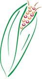 Lineart del cereale Fotografia Stock Libera da Diritti