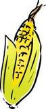 Lineart do vegetal do milho ilustração stock