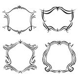 Lineart Frames Royalty Free Stock Images