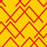 Lineas horizontales abstractas inconsútiles fondo del modelo ilustración del vector