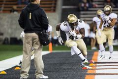 Linebacker N de Buffalo du Colorado J Falo images stock
