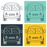 Linebus Fotografering för Bildbyråer