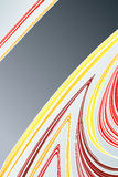 Lined art abstract with empty stripe Royalty Free Stock Photo