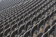 Lined chairs Stock Photos