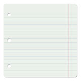 Lined notebook page Royalty Free Stock Photos