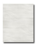 Lined office paper Royalty Free Stock Image
