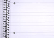 Lined paper Royalty Free Stock Photos