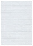 Lined paper. Piece of lined paper isolated on pure white background Royalty Free Stock Photos