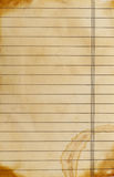 Lined paper background. Close up of grunge lined paper background Royalty Free Stock Photos
