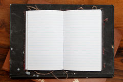 Lined paper background. Royalty Free Stock Image