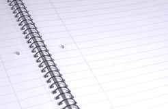Lined paper II. Lined paper to inscribe self Royalty Free Stock Images