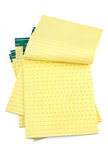 Lined paper notebooks. On white background Royalty Free Stock Photography