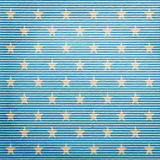 Lined paper with stars Stock Photography