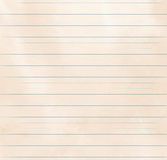 Lined paper texture Royalty Free Stock Photography