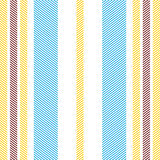 Lined simplistic textile seamless pattern. Royalty Free Stock Photos