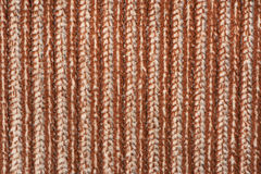 Lined texture of a fleece rug, XXL Stock Image