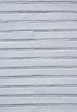 Lined white wood background Stock Photos