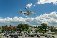 Linee aeree A380 della Malesia Immagine Stock