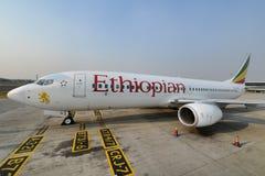 Linee aeree etiopiche Fotografia Stock