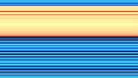 Linee allegre giallo arancio blu del fondo Fotografie Stock