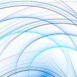 Linee blu 2 fotografia stock