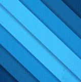 Linee blu della carta di lerciume Immagine Stock