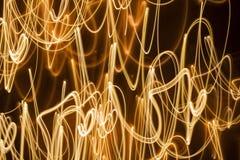 Linee d'ardore scintillanti fondo di turbinio Fotografia Stock