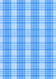 Linee d'intersezione bianche e del blu Fotografie Stock