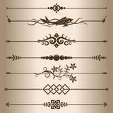 Linee decorative royalty illustrazione gratis