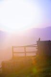 Linee della montagna Fotografia Stock